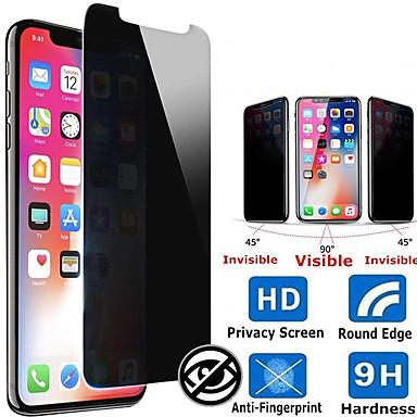 Недорогие Защитные плёнки для экрана iPhone-защитная пленка для экрана конфиденциальности для iphone 11 / iphone pro / iphone 11 pro max / защитная пленка с жесткостью 9 ч / дружественный анти-подглядывание / антишпион защитное стекло для