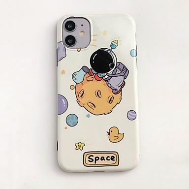 Недорогие Кейсы для iPhone-чехол для яблока iphone 11 / iphone 11 pro / iphone 11 pro max ударопрочный / ультратонкий / узор с задней крышкой sky / cartoon pc