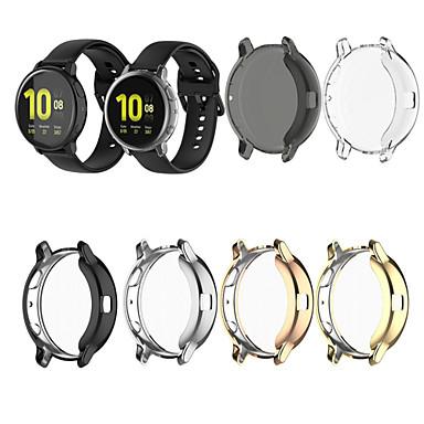 Недорогие Аксессуары для смарт-часов-тпу защитный чехол чехол для часов Samsung Galaxy Active2 40 мм sm-r830 / 44 мм 820