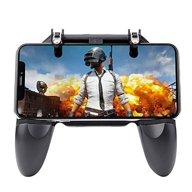 cheap Video Game Accessories-W10 Game Controllers / Game Trigger For Android / iOS ,  Portable / New Design Game Controllers / Game Trigger PP+ABS 1 pcs unit