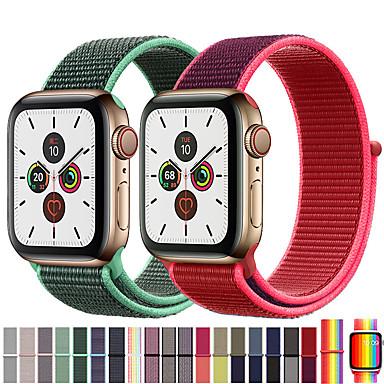 povoljno Apple Watch remeni-Pogledajte Band za Apple Watch Series 5/4/3/2/1 Apple Sportski remen Najlon Traka za ruku