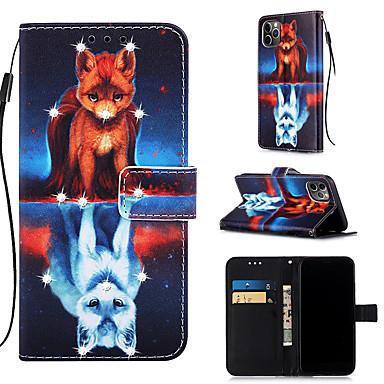 Недорогие Кейсы для iPhone 7 Plus-чехол для apple iphone 11 / iphone 11 pro / iphone 11 pro max кошелек / визитница / с подставкой для всего тела чехлы из искусственной кожи для iphone xs max xr xs x 8 плюс 7 плюс 6 плюс 8 7 6s