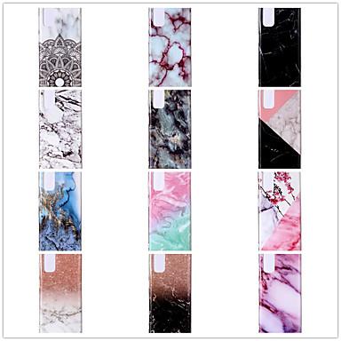 Недорогие Чехлы и кейсы для Galaxy S-чехол для samsung карта сцены samsung galaxy s20 s20 pro s20 ultra a70e красочный узор шить мрамор тпу материал imd процесс все включено оболочка мобильного телефона