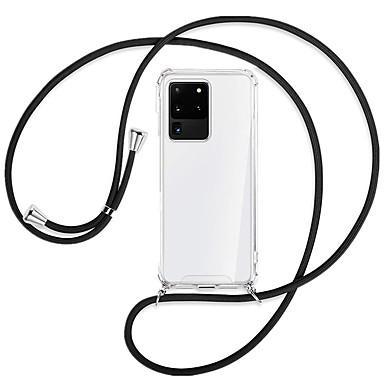povoljno Maske za mobitele-Θήκη Za Samsung Galaxy Galaxy S10 / Galaxy S10 Plus / Galaxy S10 E Otporno na trešnju Stražnja maska Jednobojni TPU / Opeka