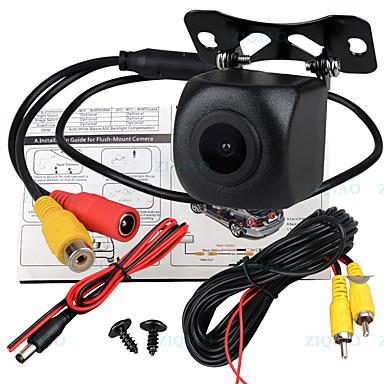 Недорогие Камеры заднего вида для авто-ziqiao 540 телеканалов 1280 x 720 ccd проводная 170-градусная водонепроницаемая камера заднего вида / подключи и играй для автомобиля