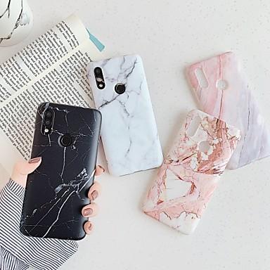 Недорогие Чехлы и кейсы для Xiaomi-чехол для xiaomi сцена карта редми примечание 7 примечание 8 примечание 8 про классический мраморный образец прекрасный матовый материал тпу imd craft все включено чехол для мобильного телефона