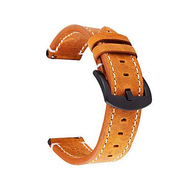 Недорогие Часы для Samsung-Ремешок для часов для Samsung Galaxy Watch Active / Серия Apple Watch 5/4/3/2/1 Samsung Galaxy / Apple Кожаный ремешок Натуральная кожа Повязка на запястье