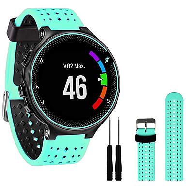 cheap Mobile Phone Accessories-Watch Band for Forerunner 235 / Forerunner 220 / Forerunner 230 / Forerunner 630 / Forerunner 620 Garmin Sport BanForerunner 735 d Silicone Wrist Strap