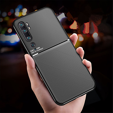 Недорогие Чехлы и кейсы для Xiaomi-магнитный чехол для автомобильного телефона xiaomi cc9 pro cc9 cc9e магнитная пластина противоударный гибридный силиконовый mi note 10 note 10 pro 9 9t 9t pro redmi k30 k20 k20 pro note 8 note 8 pro