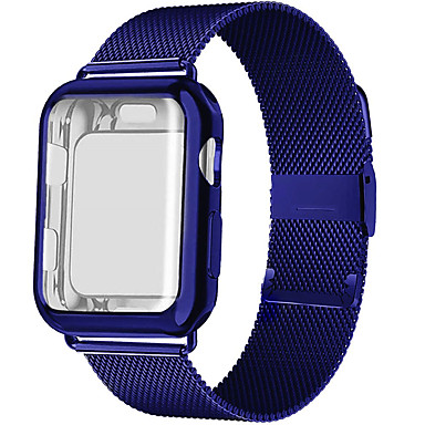 cheap Apple Watch Bands-Watch Band for Apple Watch Series 6 SE 5 4 3 2 1  Apple Milanese Loop Stainless Steel Wrist Strap