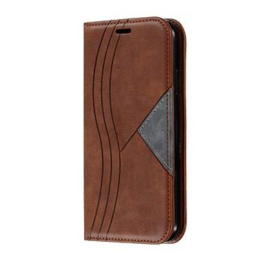 Недорогие Кейсы для iPhone 7 Plus-чехол для iphone 11 / iphone 11 pro / iphone 11 pro max кошелек / держатель для карты / противоударный чехол для всего тела с геометрическим рисунком кожаный чехол для iphone xs max / xr / x / 8 plus