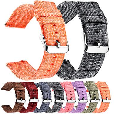 Недорогие Часы для Samsung-нейлоновый ремешок для часов для samsung galaxy gear s3 s2 класс мягкий дышащий сменный ремешок спортивная петля 22мм 20мм универсальный ремешок