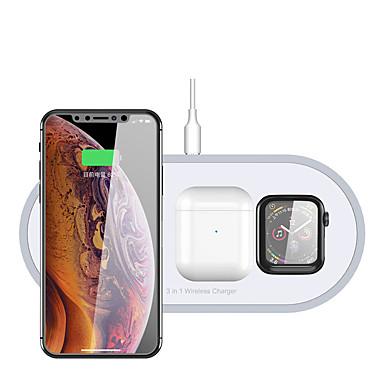 povoljno Punjači za mobitel-3-u-1 qi bežični punjač za airpods sat jabuke i telefone s