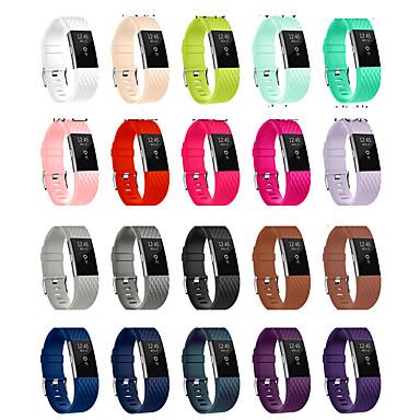 Недорогие Аксессуары для смарт-часов-Ремешок для часов для Fitbit Inspire HR Fitbit Спортивный ремешок TPE Повязка на запястье