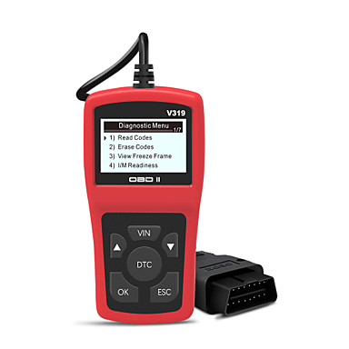 Недорогие OBD-Диагностическое устройство obd2 для диагностики ошибок автомобиля. Диагностический сканер obd ii работает на всех автомобилях с режимами obd2 / eobd / can с 16-контактным интерфейсом obdii для