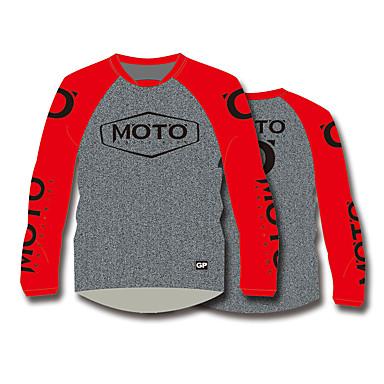 Недорогие Мотоциклетные куртки-мотоцикл езда на велосипеде одежда топы быстросохнущие дышащие быстросохнущие футболки с длинными рукавами moto gp locomotive мотоцикл джерси