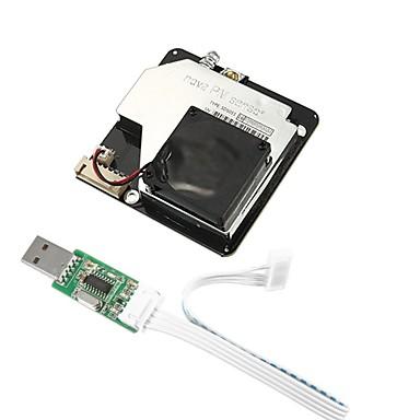ieftine Senzori-nova pm senzor sds011 laser de înaltă precizie pm2.5 modul de detectare a calității aerului super-tester de ieșire digitală