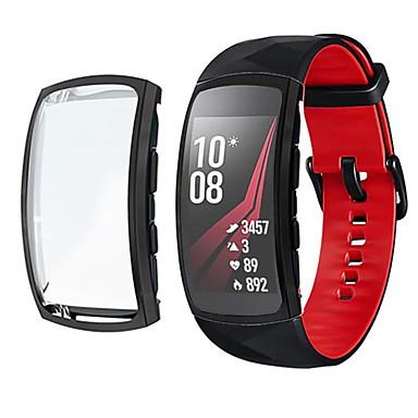 voordelige Smartwatch-kabels & laders-hoesjes voor samsung gear fit 2 pro beschermende screen protector zachte tpu hoes rondom bumper shell compatibele hoesjes voor samsung gear fit 2 pro sm-r365