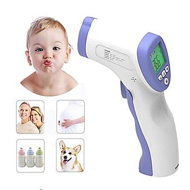 povoljno Zdravlje i ljepota-na lageru infracrveni beskontaktni termometar digitalno mjerenje temperature lcd ir infracrveni ručni termometar čelo termometar tijela za odrasle bebe