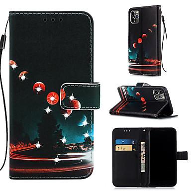 Недорогие Кейсы для iPhone 6-чехол для яблока iphone 11 / iphone 11 pro / iphone 11 pro max кошелек / держатель карты / с подставкой для всего тела чехлы из искусственной кожи для iphone xs max xr xs x 8 плюс 7 плюс 6 плюс 8 7 6s