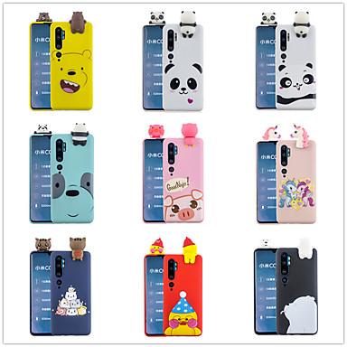 Недорогие Чехлы и кейсы для Galaxy Note 4-Кейс для Назначение Xiaomi Note 4 / Redmi Note 5A / Xiaomi Redmi Note 5 Pro Матовое / С узором / Своими руками Кейс на заднюю панель Однотонный / Мультипликация ТПУ