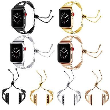 povoljno Apple Watch remeni-Pogledajte Band za Apple Watch Series 5 / Apple Watch Series 4 / Apple Watch Series 3 Apple Dizajn nakita Nehrđajući čelik Traka za ruku