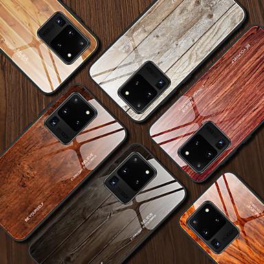 povoljno Maske/futrole za Galaxy S seriju-Θήκη Za Samsung Galaxy S9 / S9 Plus / Note 9 Otporno na trešnju / Uzorak Stražnja maska Uzorak drva / Riječ / izreka TPU / Kaljeno staklo