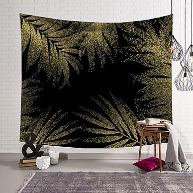 povoljno Zidni ukrasi-5 veličina tropska biljka cvjetni tapiserija zid viseći poliester tanki boem kaktus banana list print tapiserija plažni ručnik jastuk