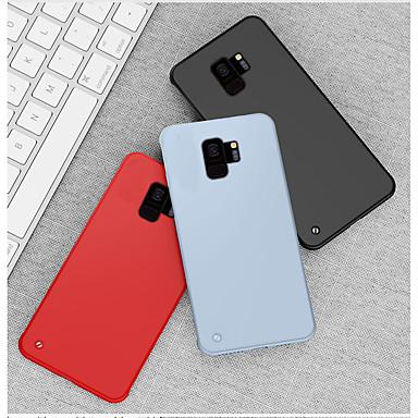 povoljno Maske/futrole za Galaxy S seriju-futrola za samsung galaxy note 10 / note 9 / s10 / s9 / s10 plus / s9 plus otporna na udarce / ultra tanka / smrznuta stražnja korica u boji u boji