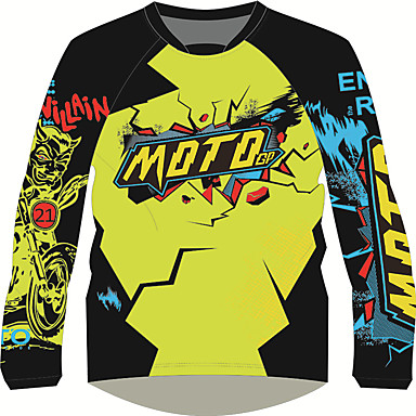 Недорогие Мотоциклетные куртки-мотоциклетная одежда рубашки топы для унисекс полиэстер / полиамид осень дышащая быстрая сухая майка мотоцикла