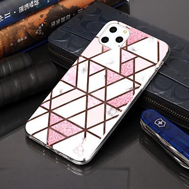 Недорогие Кейсы для iPhone-чехол для apple iphone 11 / iphone 11 pro / iphone 11 pro max покрытие / рисунок задняя крышка геометрический рисунок тпу для iphone xs max xr xs x 8 плюс 7 плюс 6 с плюс 6 г 5 г