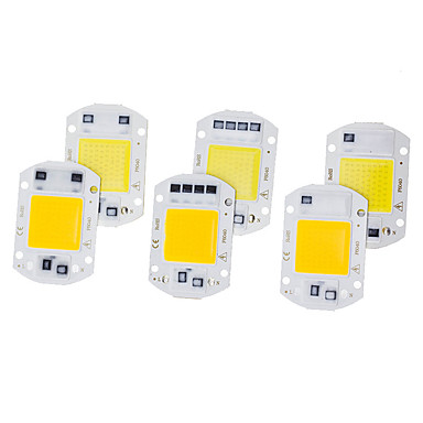 ieftine LED-uri-6 buc led cip cob 20w 220v smart ic fără nevoie șofer led bec pentru iluminare lumina reflectoarelor lumină diy