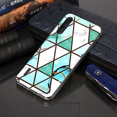 Недорогие Чехлы и кейсы для Xiaomi-чехол для xiaomi redmi note 7 pro / redmi note 7 оцинкованный мрамор с рисунком imd process tpu материал чехол для мобильного телефона note8 note8pro