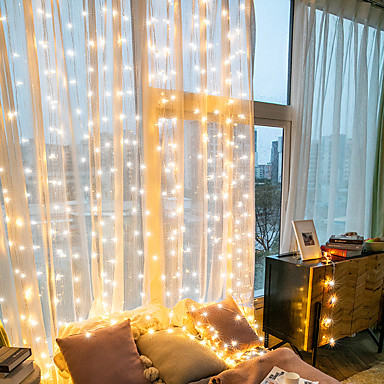 economico LED e illuminazione-10cm Fili luminosi 300 LED EL 1 set RGB + Bianco San Valentino / Natale Creativo / Decorativo 5 V