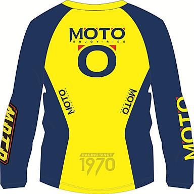 Недорогие Мотоциклетные куртки-мотоцикл одежда рубашки топы для унисекс полиэстер / полиамид весна-лето дышащая быстрая сухая майка мотоцикла