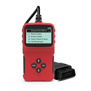 Недорогие OBD-Универсальный диагностический инструмент obdii Сканер кодов Сканер кодов автомобилей для всех автомобилей 1996 г. и более новых автомобилей, совместимых с obdii v309 elm327