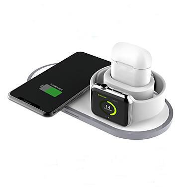 povoljno Punjači za mobitel-2/3/10 W 3 u 1 bežični punjači / Bežični punjač USB punjač Univerzalno Bežični punjač / Qi 2 A DC 9V / DC 5V za Apple Watch Series 4 / Apple Watch Series 4/3/2/1 / Apple Watch Series 3 Univerzális