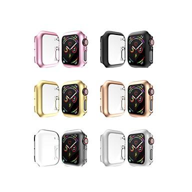 Недорогие Аксессуары для смарт-часов-Корпуса для яблочных часов серии 3 / яблочных часов серии 2 / яблочных часов серии 1 с пластиковой совместимостью яблока