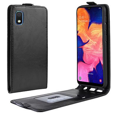 Недорогие Чехлы и кейсы для Galaxy Note-Кейс для Назначение SSamsung Galaxy S8 Plus / S8 / Galaxy A7(2018) Кошелек / Бумажник для карт / Флип Чехол Однотонный Кожа PU / ТПУ