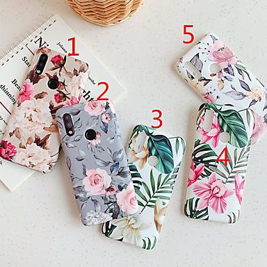 Недорогие Чехлы и кейсы для Xiaomi-чехол для xiaomi сцены карта редми примечание 7 примечание 8 примечание 8 про красочный цветочный узор мелкозернистый материал ТПУ IMD процесс все включено чехол для мобильного телефона