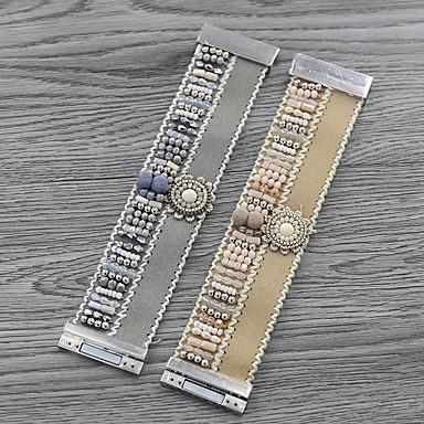 ieftine Brățări-Pentru femei Brățări cu Talismane Brățări Bangle Brățări cu Mărgele Împletit Fata de la tara European La modă Dulce Plin de Culoare Stilul Folk Teracotă Bijuterii brățară Kaki / Argintiu Pentru