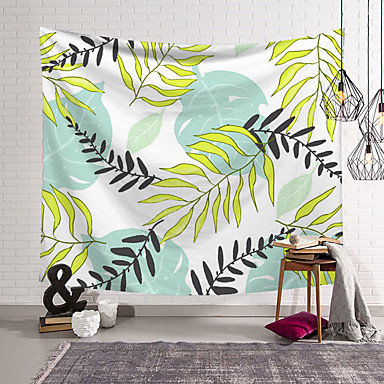 povoljno Zidni ukrasi-5 veličina tropske biljke tapiserija zid viseći poliester tanki boem kaktus banana list print tapiserija plažni ručnik jastuk