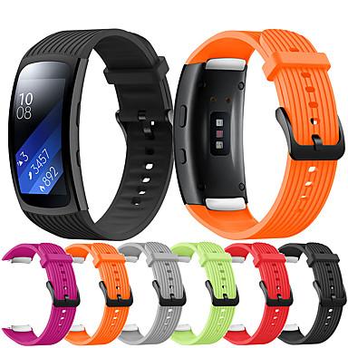 Недорогие Часы для Samsung-ремешок для часов gear fit pro r365 / gear fit 2 r360 samsung classic пряжка силиконовый ремешок