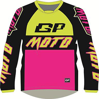 Недорогие Мотоциклетные куртки-мото gp рубашки для взрослых&майки дышащие / быстросохнущие / солнцезащитные кремы быстросохнущие с длинными рукавами костюм для мотоцикла локомотив мотоцикл джерси одежда для мотоцикла