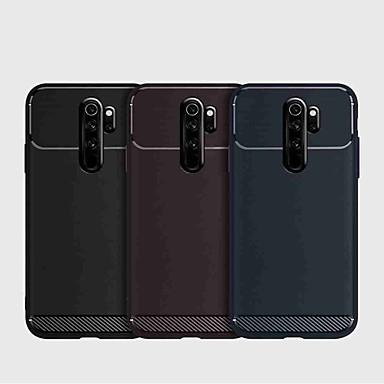 Недорогие Чехлы и кейсы для Xiaomi-Кейс для Назначение Xiaomi Xiaomi Redmi Note 5 Pro / Xiaomi Redmi Примечание 5 / Xiaomi Redmi 7 Защита от удара Кейс на заднюю панель Однотонный ТПУ / Углеродное волокно