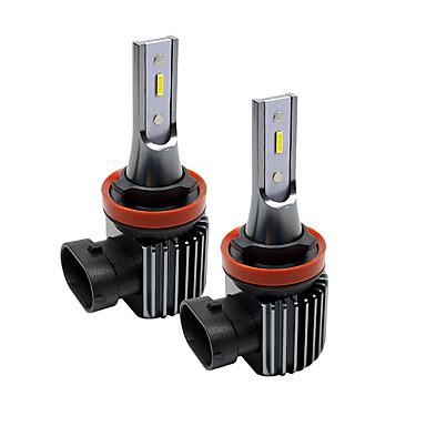 Недорогие Противотуманные фары-H1 / h3 / h7 / h11 / 9005 супер яркие автомобильные лампочки 20 Вт интегрированные светодиодные 2000 лм светодиодные противотуманные фары безвентиляторные фары