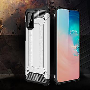 Недорогие Чехлы и кейсы для Galaxy S-чехол для samsung galaxy s20 / s20 plus / s20 ультра ударопрочный гибридный бронированный телефон чехол для samsung galaxy a91 / a81 / a71 / a51 / a50s / a40s / a30s / a20s / a10s / a90 / a80 / a70 /