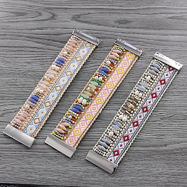 ieftine Brățări-Pentru femei Brățări cu Talismane Brățări Bangle Brățări cu Mărgele Ștrasuri Desene Animate Natură La modă Έθνικ Dulce lolita Material Textil Bijuterii brățară Roz Îmbujorat / Argintiu / Albastru