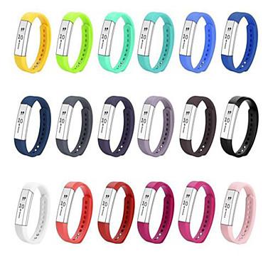 Недорогие Аксессуары для смарт-часов-Ремешок для часов для Fitbit Alta Fitbit Спортивный ремешок TPE Повязка на запястье