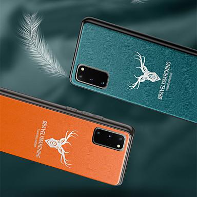 Недорогие Чехлы и кейсы для Galaxy S-Кейс для Назначение SSamsung Galaxy S9 / S9 Plus / S8 Plus Матовое Кейс на заднюю панель Однотонный / Мультипликация Кожа PU / ТПУ / ПК
